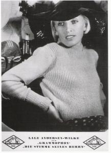 Künstlerfoto der Electrola, Mitte der 30er Jahre