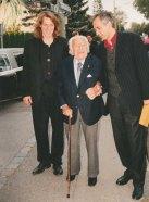 Max Colpet mit Frau und Bruno Jonas